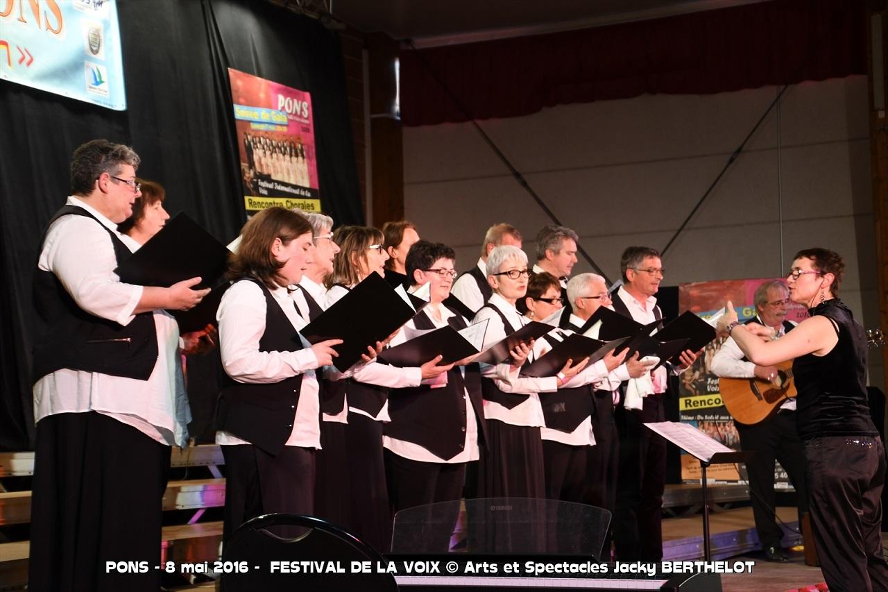 Rencontre Chorales, samedi 8 mai à Pons