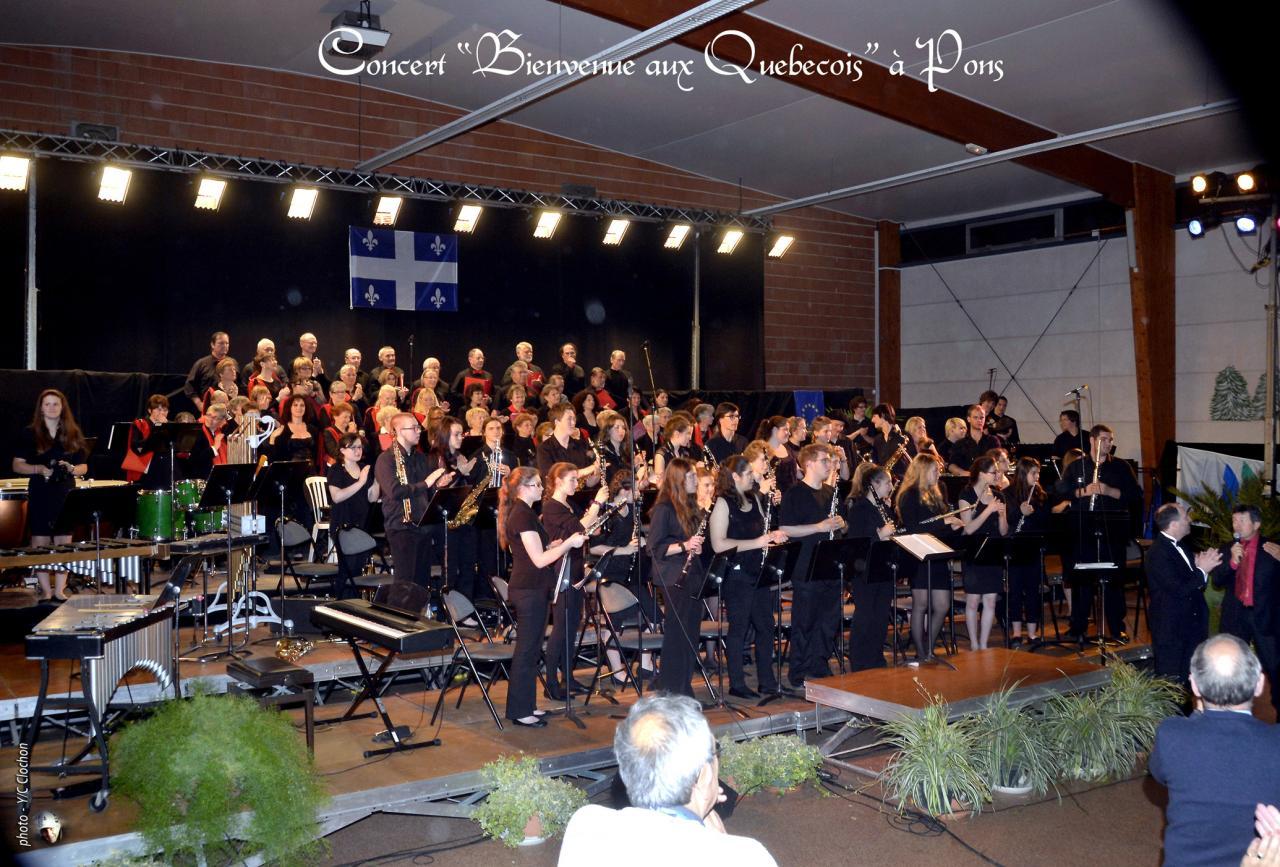 _Concert de bienvenue aux Québecois