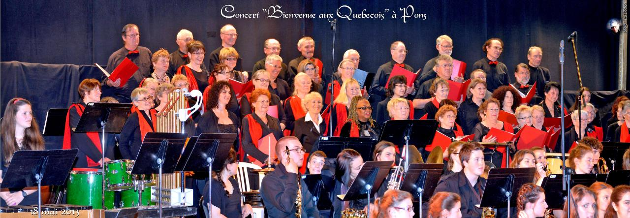 Concert de bienvenue aux Québecois