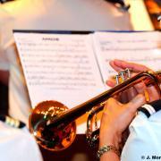 La fanfare propose un repertoire tres varie et de grande qualite