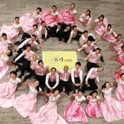 Une tres belle photo de la chorale chinoise